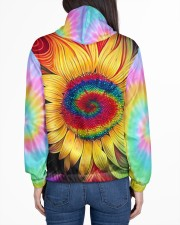 Hippie trippy sunflower wild heart gypsy soul  Women's All Over Print Hoodie aos-complex-women-hoodie-lifestyle-back-01