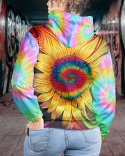 Hippie trippy sunflower wild heart gypsy soul  Women's All Over Print Hoodie aos-complex-women-hoodie-lifestyle-back-15