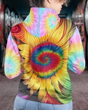 Hippie trippy sunflower wild heart gypsy soul  Women's All Over Print Hoodie aos-complex-women-hoodie-lifestyle-back-16
