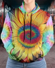Hippie trippy sunflower wild heart gypsy soul  Women's All Over Print Hoodie aos-complex-women-hoodie-lifestyle-front-17