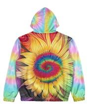 Hippie trippy sunflower wild heart gypsy soul  Women's All Over Print Hoodie back