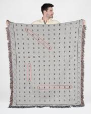 Teach Love Inspire 50x60 - Woven Blanket aos-woven-throw-blanket-50x60-lifestyle-front-01