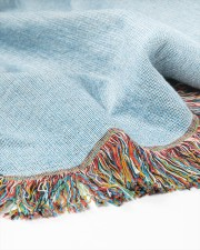 Teach Love Inspire 50x60 - Woven Blanket aos-woven-throw-blanket-close-up-04
