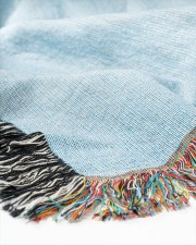 Teach Love Inspire 50x60 - Woven Blanket aos-woven-throw-blanket-close-up-05