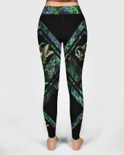 Green Hummingbird High Waist Leggings aos-high-waist-leggings-lifestyle-02