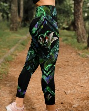 Green Hummingbird High Waist Leggings aos-high-waist-leggings-lifestyle-21