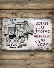 Personalized Camping Sketch 5Th Wheel Always 17x11 Poster aos-poster-landscape-17x11-lifestyle-14