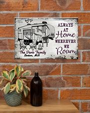 Personalized Camping Sketch 5Th Wheel Always 17x11 Poster poster-landscape-17x11-lifestyle-23