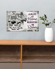 Personalized Camping Sketch 5Th Wheel Always 17x11 Poster poster-landscape-17x11-lifestyle-24