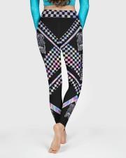 Race Mom Mothers Day High Waist Leggings High Waist Leggings aos-high-waist-leggings-lifestyle-06