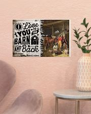 I Love You To The Barn 17x11 Poster poster-landscape-17x11-lifestyle-22