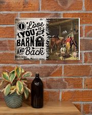 I Love You To The Barn 17x11 Poster poster-landscape-17x11-lifestyle-23