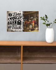 I Love You To The Barn 17x11 Poster poster-landscape-17x11-lifestyle-24