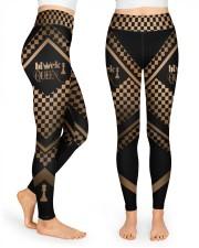 Black Queen High Waist Leggings front