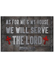 """Jesus Me My House Serve The Lord  Doormat 22.5"""" x 15""""  front"""