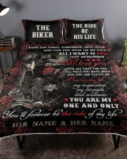 Personalized Motorcycling I Want You Today Queen Quilt Bed Set aos-queen-quilt-bed-set-lifestyle-front-01a
