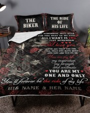 Personalized Motorcycling I Want You Today Queen Quilt Bed Set aos-queen-quilt-bed-set-lifestyle-front-02a