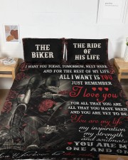 Personalized Motorcycling I Want You Today Queen Quilt Bed Set aos-queen-quilt-bed-set-lifestyle-front-04a