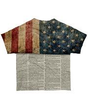 One Nation Under God All-over T-Shirt back