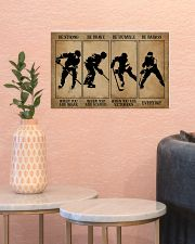 Strong When You Are Weak Hockey 17x11 Poster poster-landscape-17x11-lifestyle-21