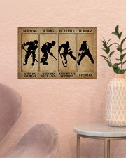 Strong When You Are Weak Hockey 17x11 Poster poster-landscape-17x11-lifestyle-22