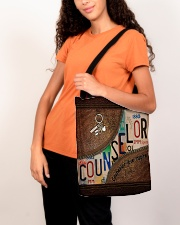 Counselor love inspire All-over Tote aos-all-over-tote-lifestyle-front-07