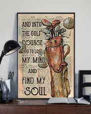 And Into The Golf Course Unframed 11x17 Poster lifestyle-poster-2