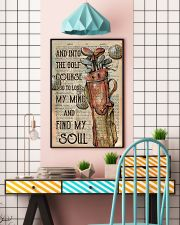 And Into The Golf Course Unframed 11x17 Poster lifestyle-poster-6