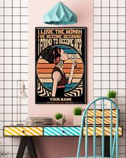 I Love The Woman 11x17 Poster lifestyle-poster-6