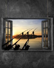 Fishing Window  17x11 Poster aos-poster-landscape-17x11-lifestyle-12