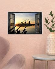 Fishing Window  17x11 Poster poster-landscape-17x11-lifestyle-22