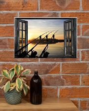 Fishing Window  17x11 Poster poster-landscape-17x11-lifestyle-23
