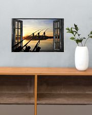 Fishing Window  17x11 Poster poster-landscape-17x11-lifestyle-24