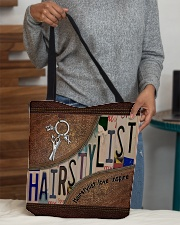 Hairstylist love inspire All-over Tote aos-all-over-tote-lifestyle-front-10