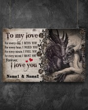 Forever I Love You Personalize 17x11 Poster aos-poster-landscape-17x11-lifestyle-12