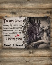 Forever I Love You Personalize 17x11 Poster aos-poster-landscape-17x11-lifestyle-14