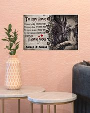 Forever I Love You Personalize 17x11 Poster poster-landscape-17x11-lifestyle-21