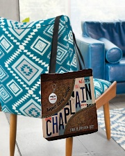 Custom Name Chaplain Respect Caring Courage All O All-over Tote aos-all-over-tote-lifestyle-front-01