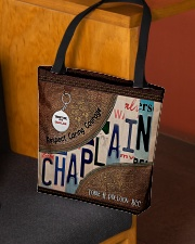 Custom Name Chaplain Respect Caring Courage All O All-over Tote aos-all-over-tote-lifestyle-front-02