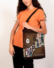 Custom Name Chaplain Respect Caring Courage All O All-over Tote aos-all-over-tote-lifestyle-front-07