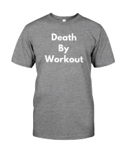 Death By Workout Premium Fit Mens Tee thumbnail