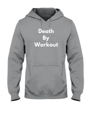 Death By Workout Hooded Sweatshirt thumbnail