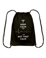 Limited Edition : Keep Calm Nurses Apparel  Drawstring Bag thumbnail
