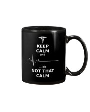 Limited Edition : Keep Calm Nurses Apparel  Mug front