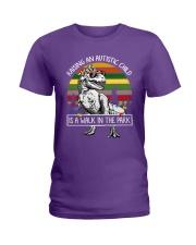 Raising an autistic child shirt Ladies T-Shirt front