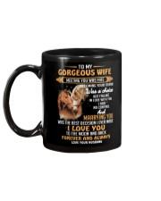 Black Cat Mug Mug back