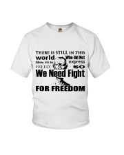 Fight for Freedom  Youth T-Shirt thumbnail
