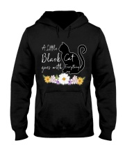A Little Black Cat Goes With Everything T-shirt Hooded Sweatshirt thumbnail