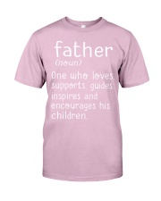 Father noun Classic T-Shirt front