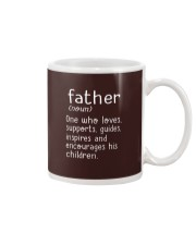Father noun Mug tile